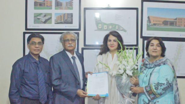 Mrs. Feryal A. Gauhar joined Cancer Care Hospital & Research Center as Ambassador.